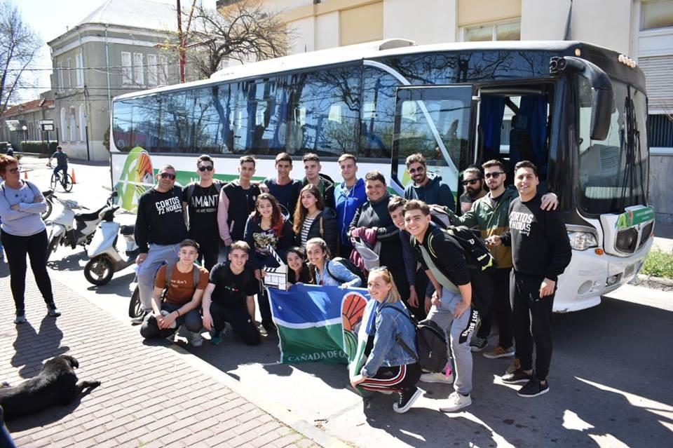 Estudiantes cañadenses rumbo al Festival Internacional de Cine en Puerto Madryn