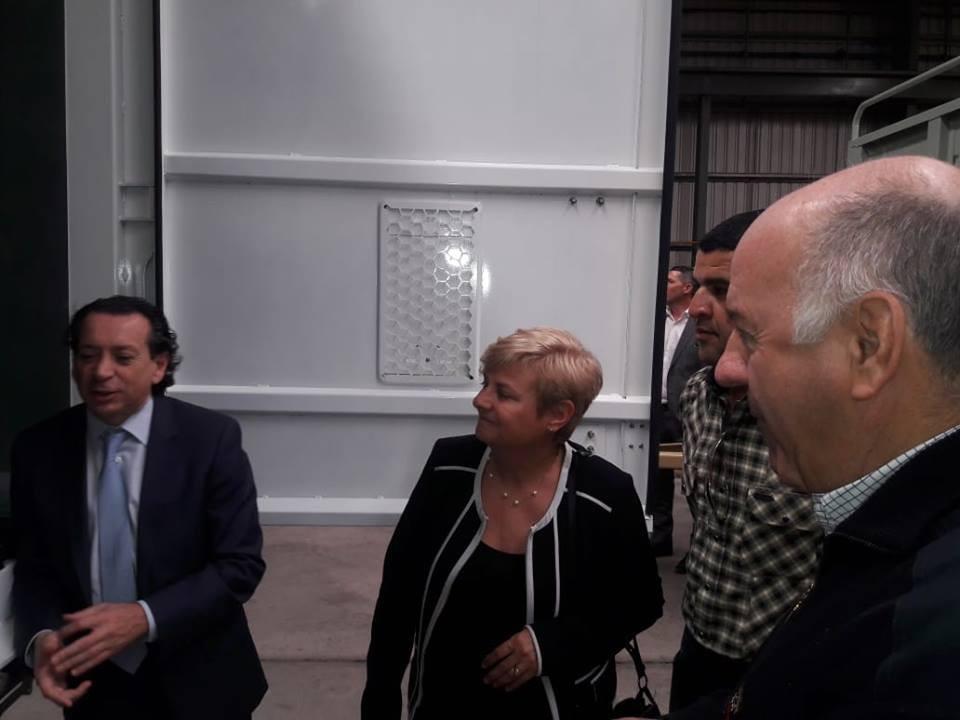 Clerici y el Ministro Sica visitaron La Helvética