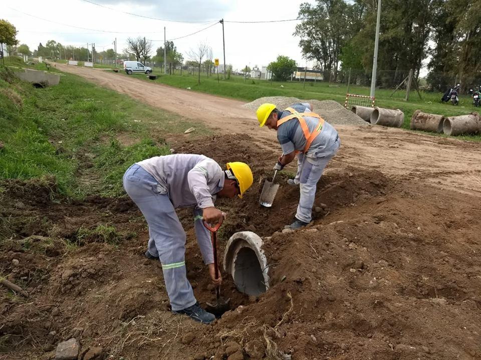 El Municipio realiza trabajos de canalización