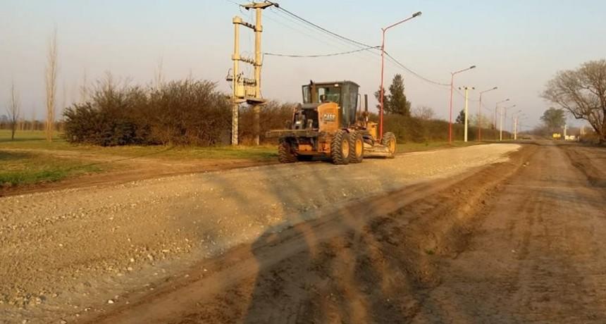 El Municipio realizó trabajos de mejorado en zona Oeste