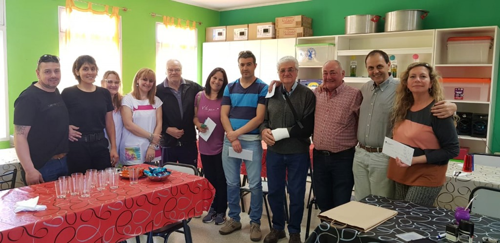Rasetto realizó una nueva entrega de aportes a instituciones de Iriondo