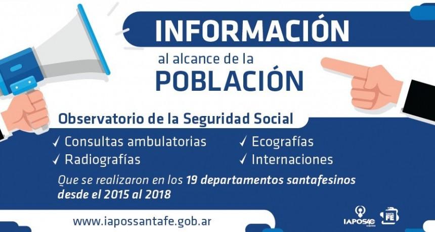 IAPOS, información de acceso público