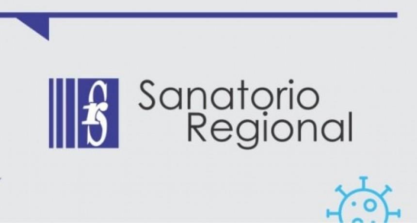 Aclaración del Sanatorio Regional