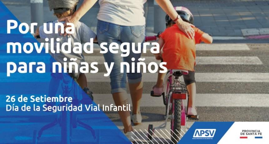 A PARTIR DE ESTE AÑO LA PROVINCIA CELEBRARÁ EL 26 DE SEPTIEMBRE EL DÍA DE LA SEGURIDAD VIAL INFANTIL