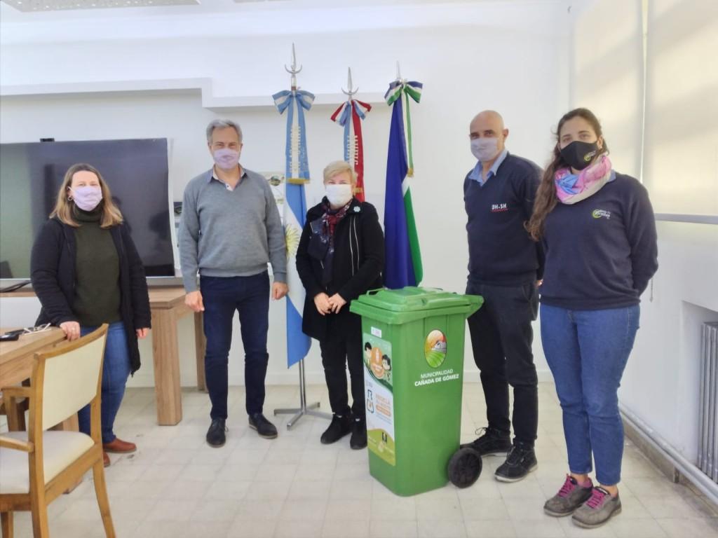 El Municipio firmó convenio para reciclado de aceite vegetal usado