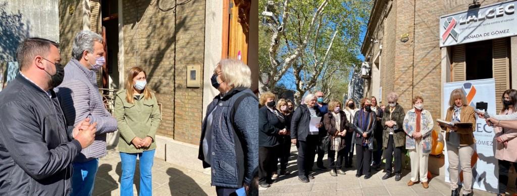 Casalegno participó del acto por los 60 años de LALCEC