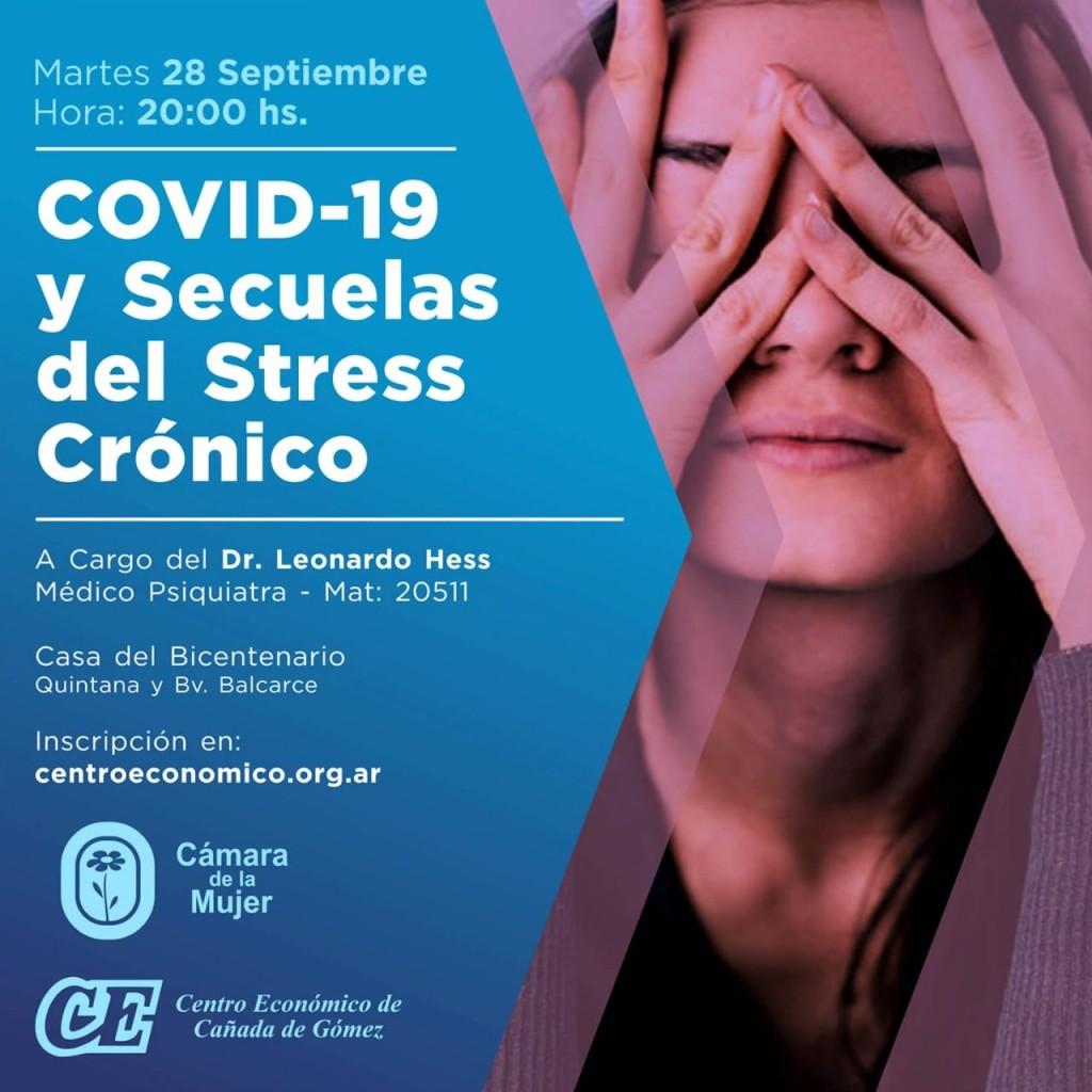 La Cámara de la Mujer organiza charla sobre Covid y Stress