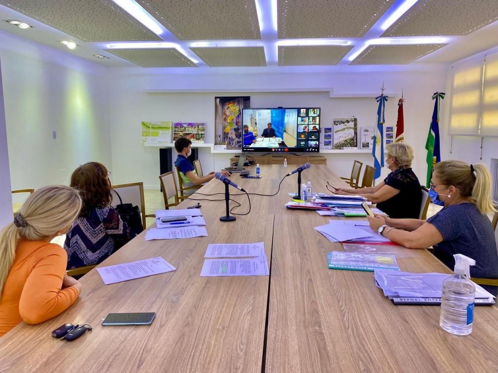 Convenio del Municipio con el ministerio de Desarrollo Territorial y Hábitat de la Nación