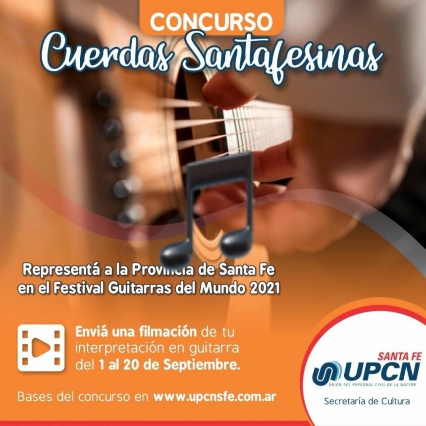 UPCN Santa Fe selecciona artista para representar a la Provincia en el Festival Guitarras del Mundo