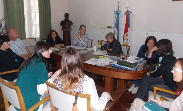 Reunión para conformar la Comisión Municipal de Discapacidad