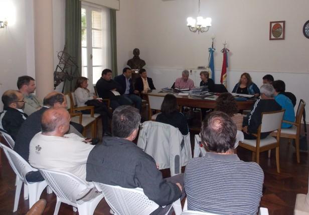 Se concretó la Comisión Municipal del Deporte