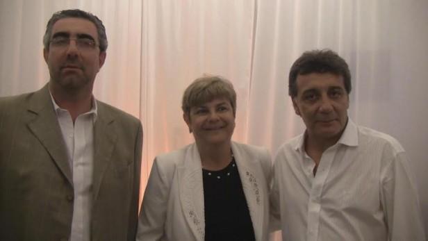 Funcionarios municipales acompañaron los festejos del centenario de ADEO
