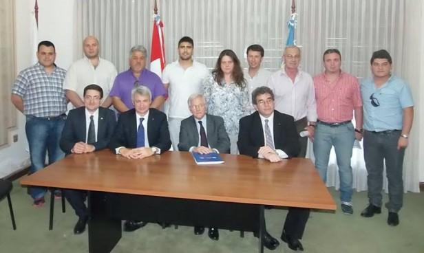 Reunión de empresarios con autoridades de la Cámara Argentina de Comercio