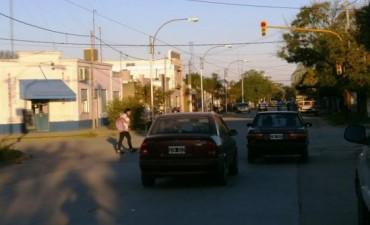 Pedido de demarcación de sendas peatonales en zona sur