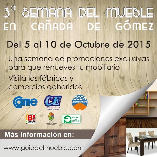 Se viene la Semana del Mueble en Cañada de Gómez