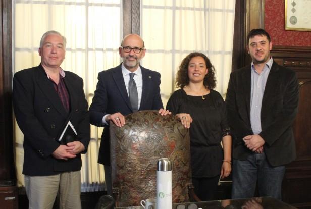 Chale se reunió con el nuevo rector de la UNR