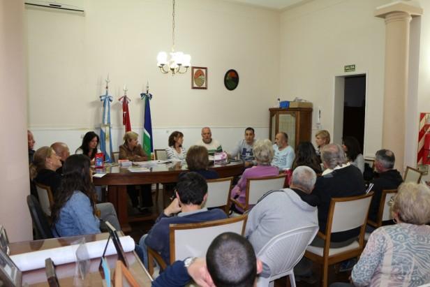 Autoridades Municipales se reunieron con la Inter Vecinal