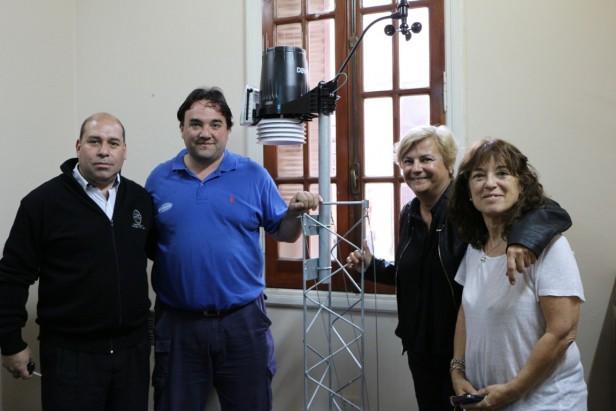 El Municipio adquirió una estación meteorológica automática