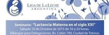 Seminario Lactancia Materna Siglo XXI