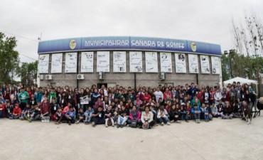 Trescientos chicos participaron de la experiencia VideoMinuto