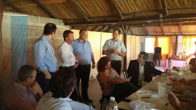 Reunión política en San Genaro