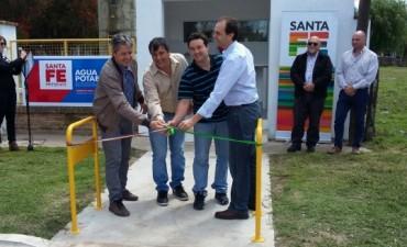 Se inauguró en Bustinza una planta de Ósmosis Inversa