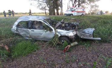 Accidente fatal en Correa