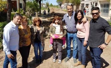 El Municipio inició trabajos para pavimentar Concepción al 600