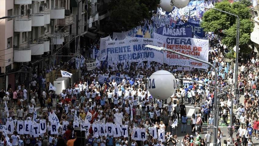 CTERA resolvió Paro Nacional docente y Marcha contra el ajuste en el presupuesto educativo