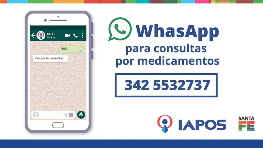 Consultas por medicamentos para afiliados al IAPOS
