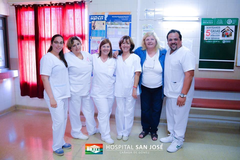 Nuevas autoridades en la enfermeria del Hospital