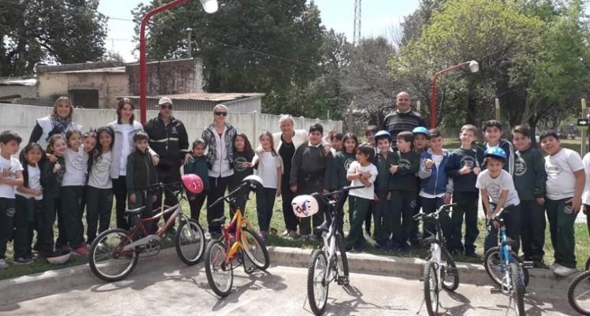 El Municipio y escuelas realizan jornada de educación vial