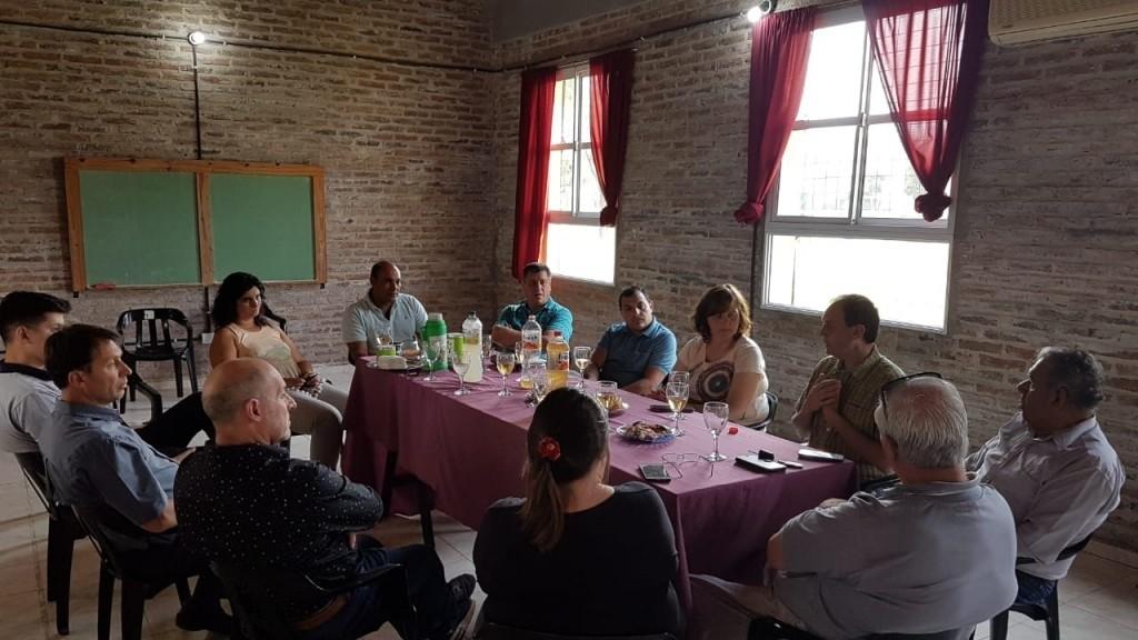 Municipios y Comunas de Iriondo se reunieron para tratamiento de temas comunes