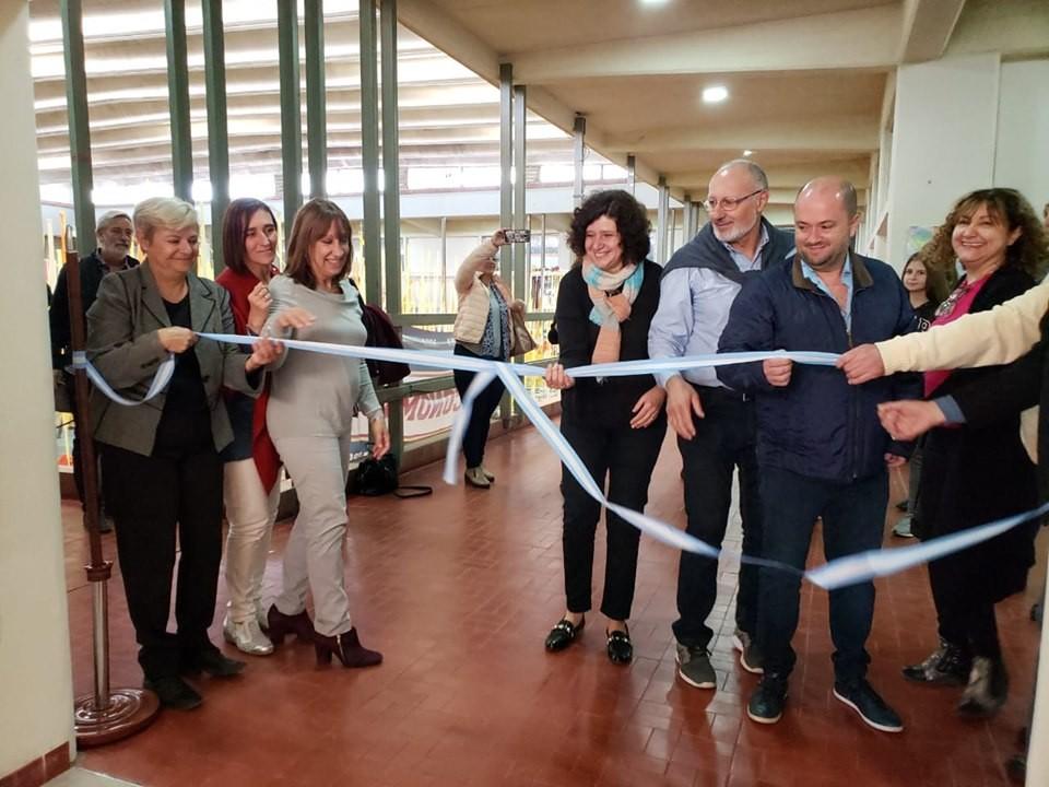 Con la presencia de la intendenta se inauguraron las nuevas aulas en el Nacio