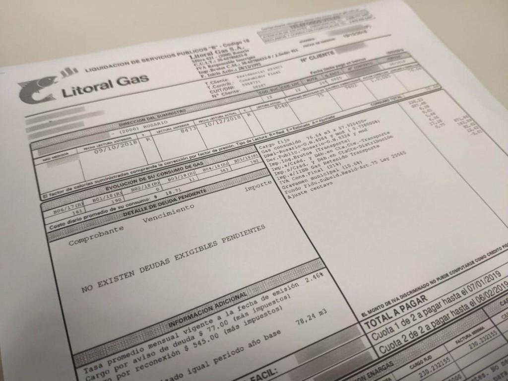 La Defensoría del Pueblo de Santa Fe recordó que el sistema de facturación del gas natural, a partir del 1° de junio de 2019, es mensual