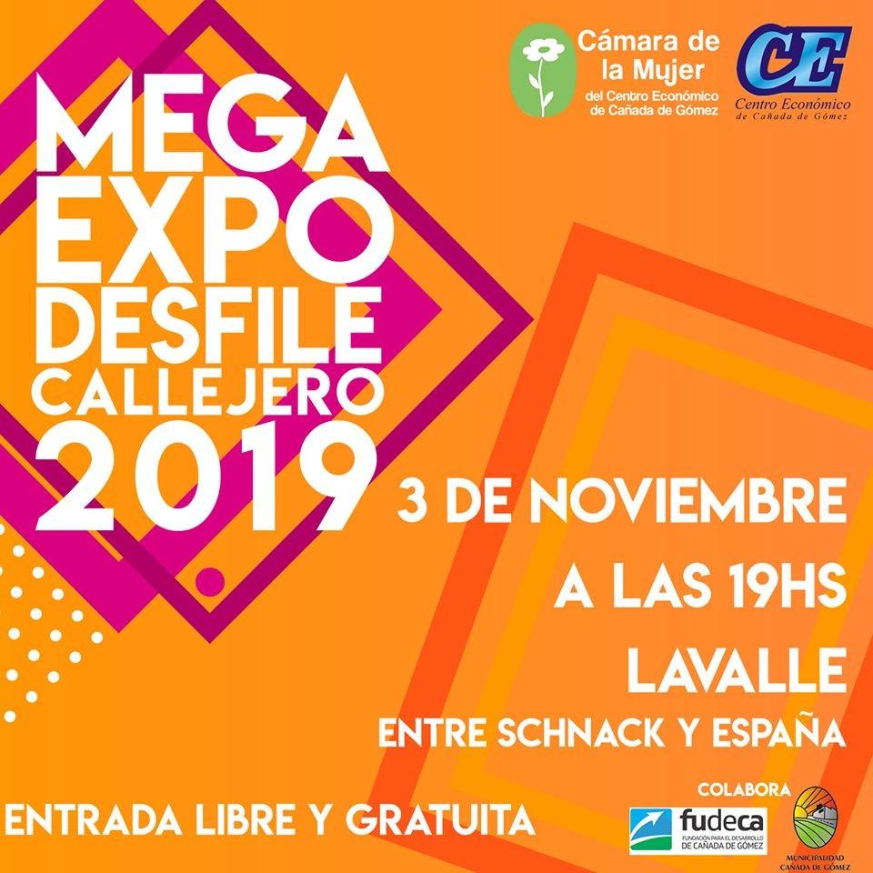 Este domingo se realiza la Mega Expo Desfile Callejero