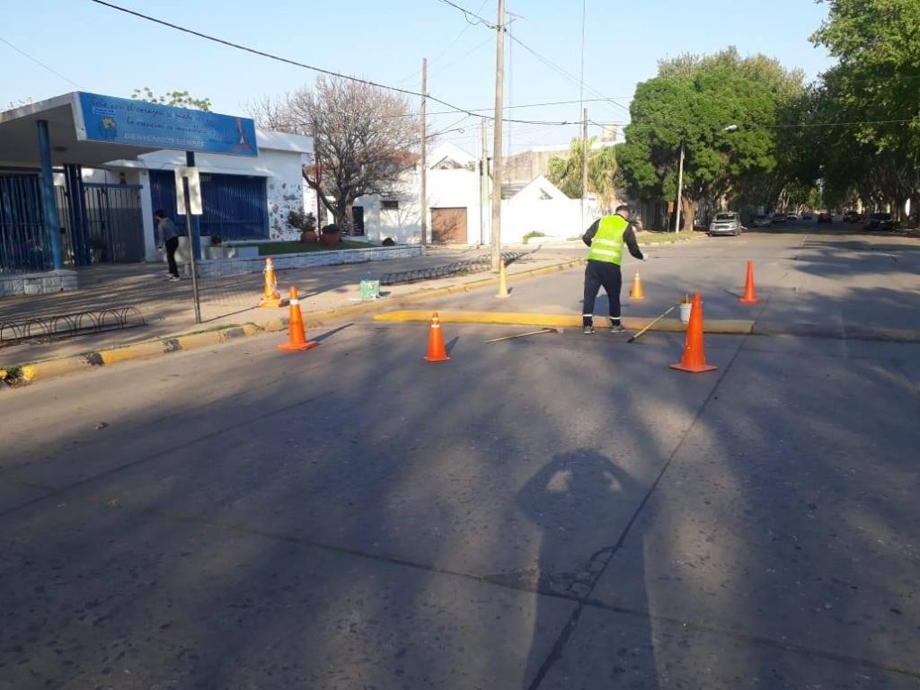 Intervenciones municipales en vía pública