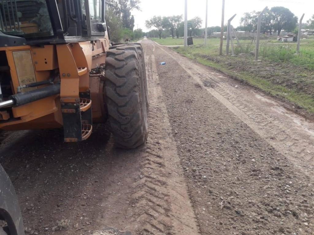 El Municipio realiza trabajos de mejorado en zona Sur