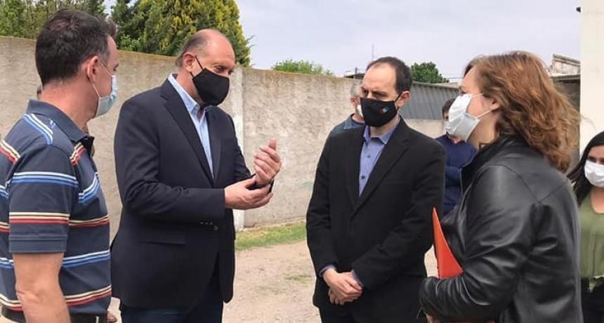 El Gobernador Perotti en Totoras
