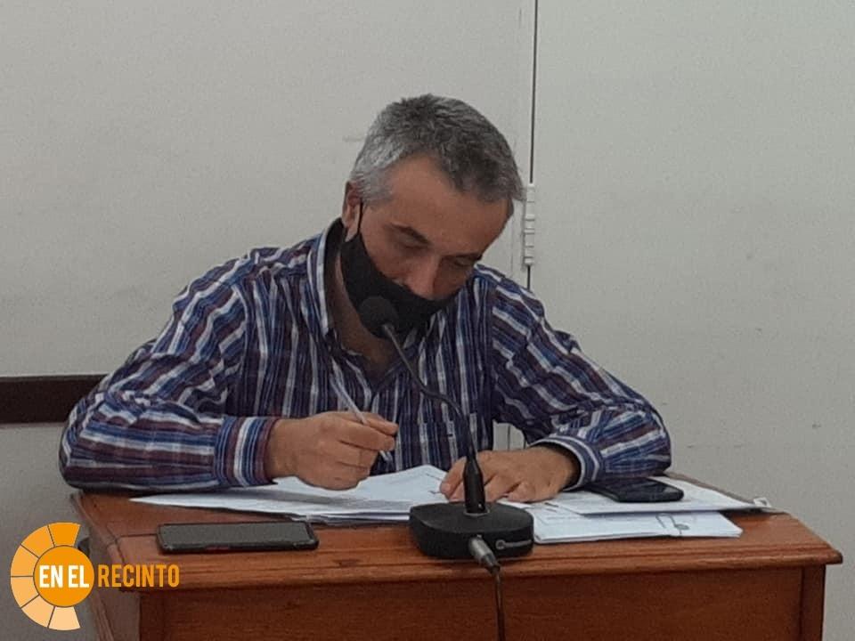 Travaglino pide mantenimiento de espacios públicos