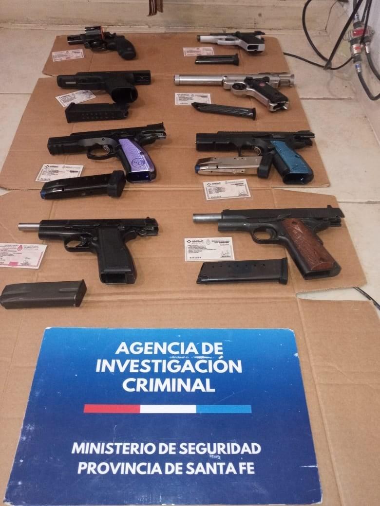 La policía recuperó armas robadas