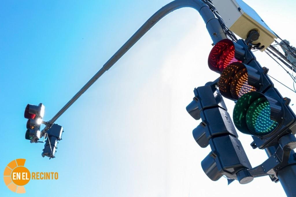 Semáforos led para el tramo urbano de Ruta 9