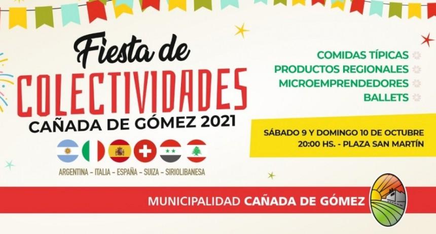 Este fin de semana se realiza la Fiesta de Colectividades 2021