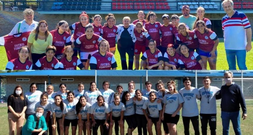 Respaldo del Municipio al fútbol femenino de ADEO y Sport