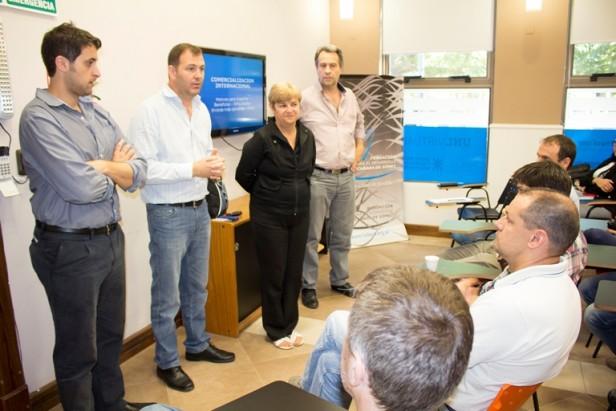 Funcionarios municipales participaron de capacitación en Fudeca