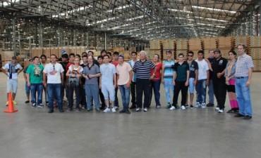 Alumnos de La Pampa recorrieron el Parque Industrial