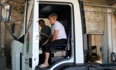 Nuevo camión para la recolección de residuos