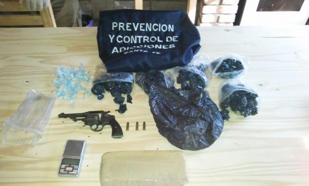 Operativo por drogas en el Departamento Belgrano