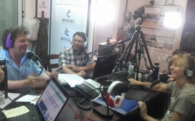 Rubén Carrera presenta el libro Aquí Llegó Balá en Casa del Bicentenario