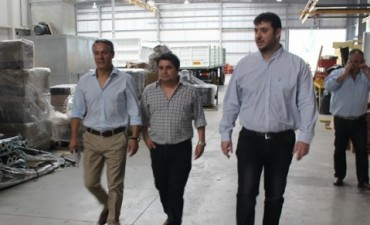Intensa actividad de Chale y Mauroni junto al diputado Núñez